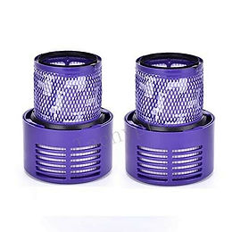 2 Pack Vacuum Replacement Filter Compatible for Dyson V10 Series, Dyson Cyclone