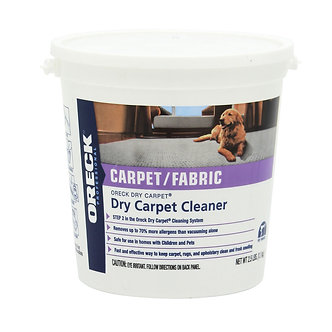 Oreck Dry Carpet Cleaning Powder 9lb