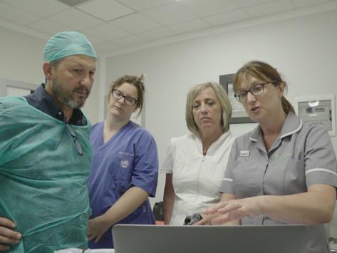 Arriva in Italia la Fluoroscopia Linfatica Dinamica