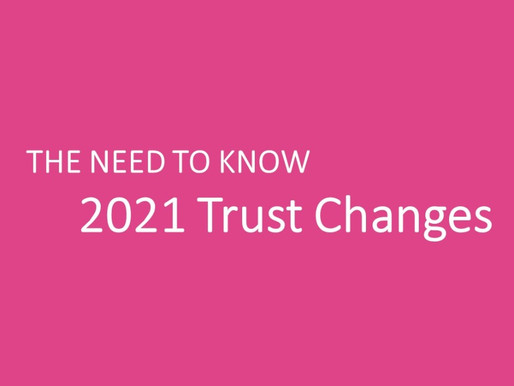 2021 Trust Changes