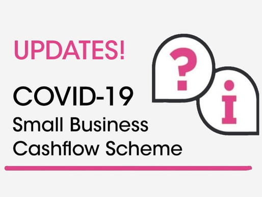 Update to Small Business Cashflow (loan) Scheme
