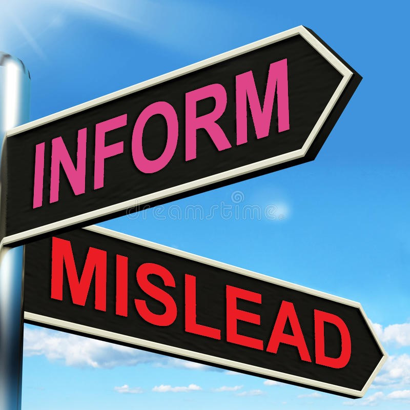 Inform Misleading Misled