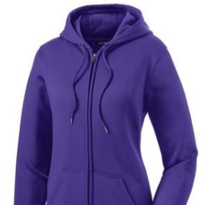 Sport Tek Fleece Ladies Full-Zip Hoodie