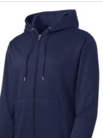 Sport Tek Fleece Full-Zip Hoodie