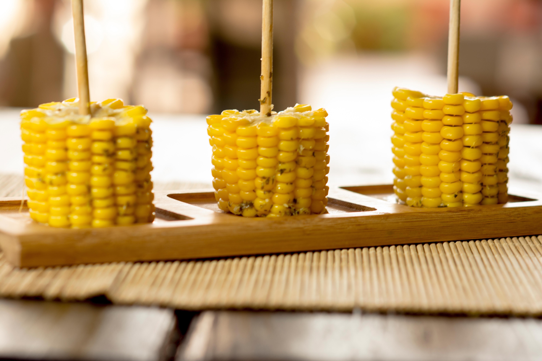 Corn skewers