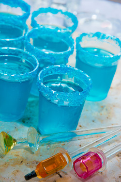 Coconut Lime Shooters