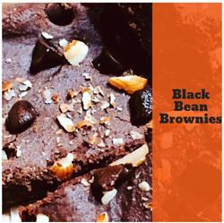 BLACK BEAN BROWNIES - Vegan