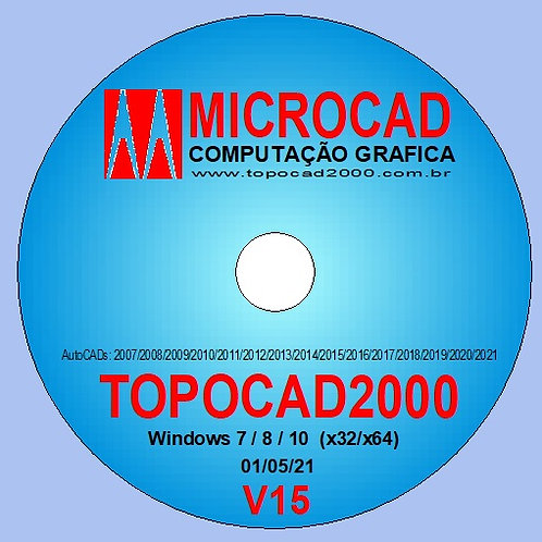 TOPOCAD2000 V15 (Digital)