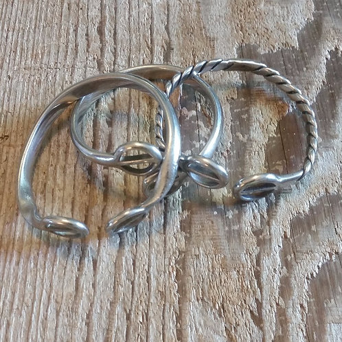 Authentic Stainless Spur Bangle *