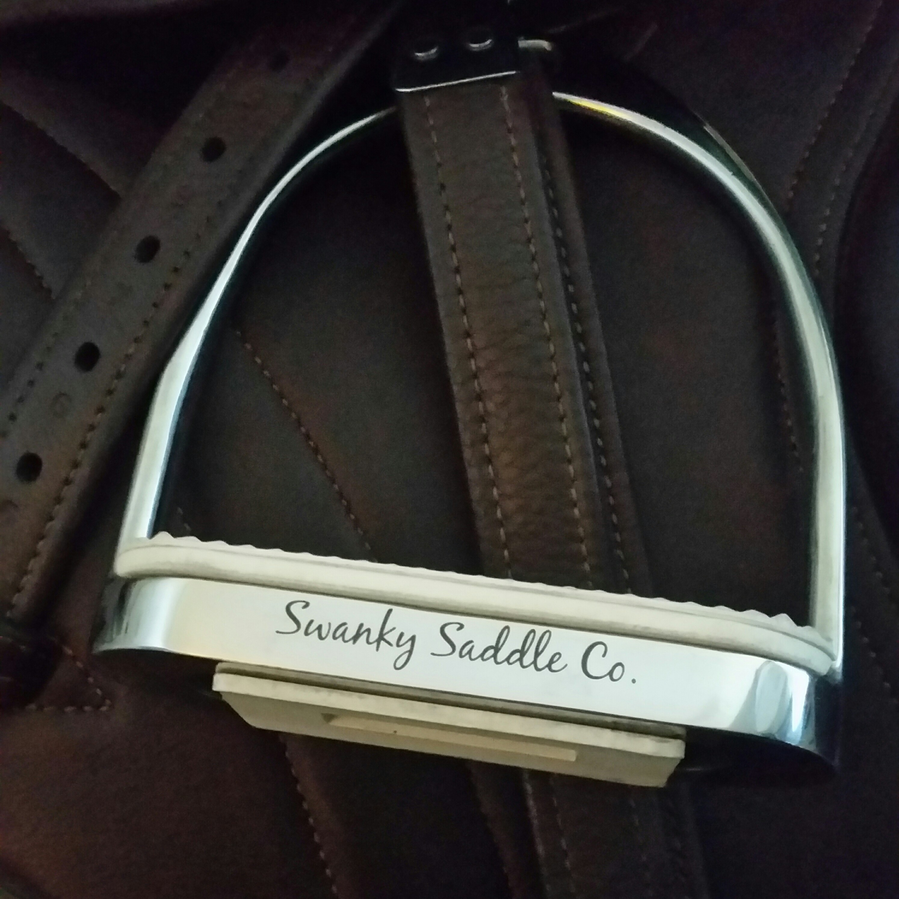 Custom Engraved Stirrups