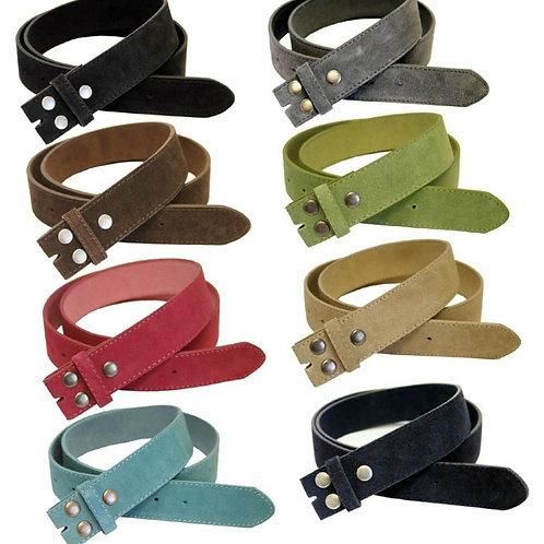Split Leather Belt Strap