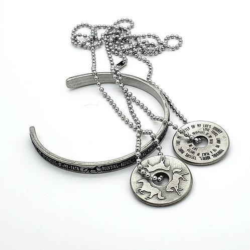 Horse Totem Necklace and Bracelet Gift Set