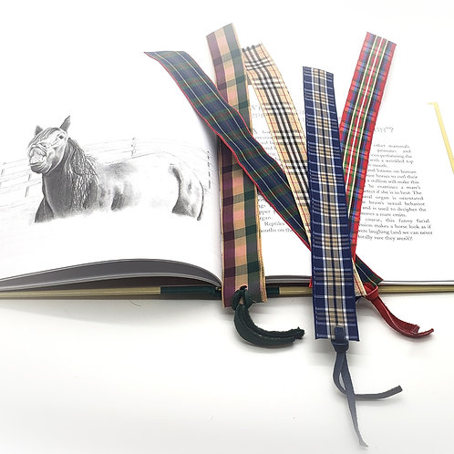 EQ Plaid Bookmark