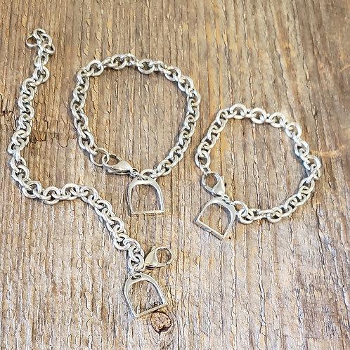 Single Stirrup Bracelet