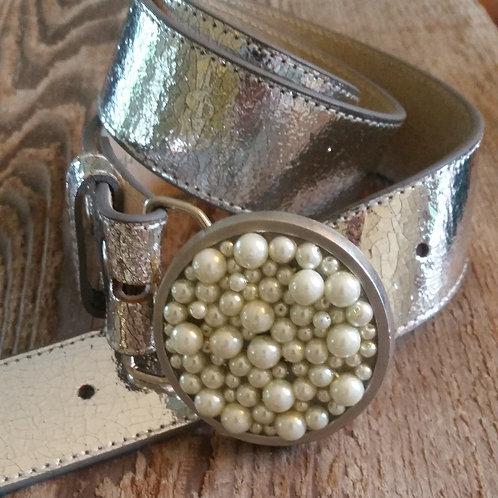 Pearls Belt Buckle*