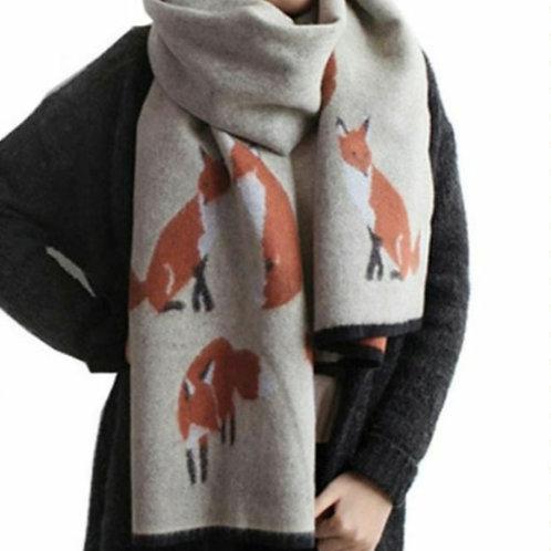 Foxy Cashmere Scarf Wrap