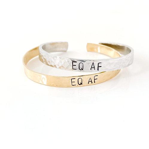 EQ AF Affirmation Cuff