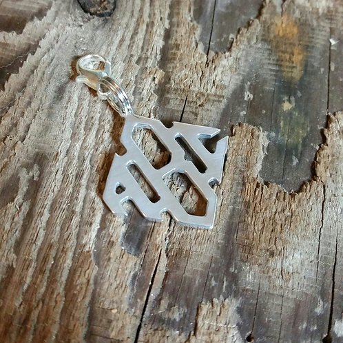 Diamond Monogram Bridle Tag*