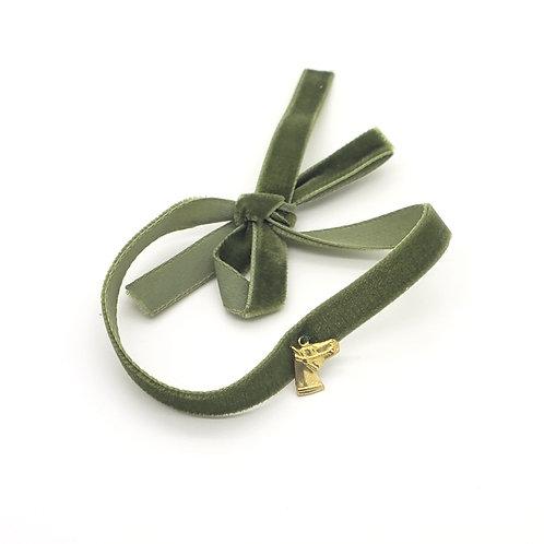 Vintage Velvet Ribbon Bracelet