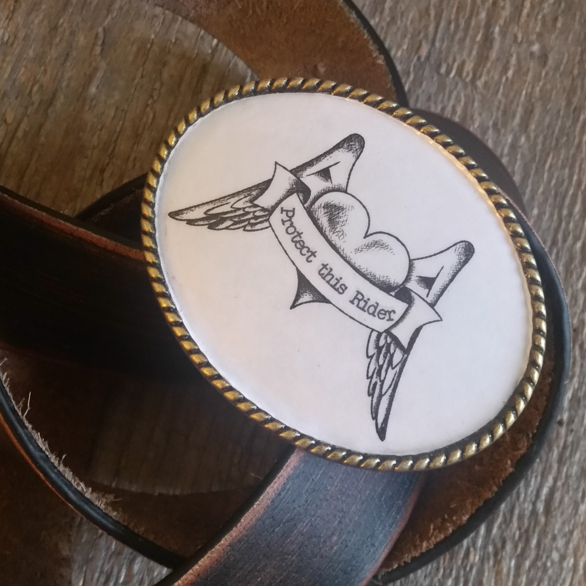 Protect this Rider Buckle