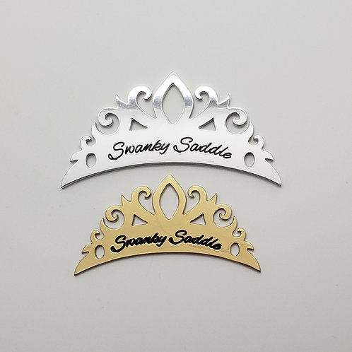 The Signature Tiara Saddle Plate