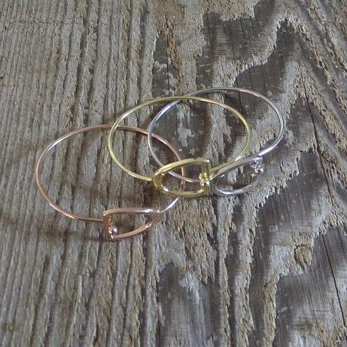 Wire Stirrup Bracelet *