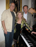 Chevy Chase, Lars Roos and Margareta Svensson