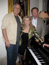 Chevy Chase, Lars Roos and Margareta Svensson