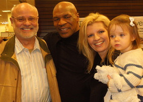 Mike Tyson, Seth, Margareta and Samantha Riggs