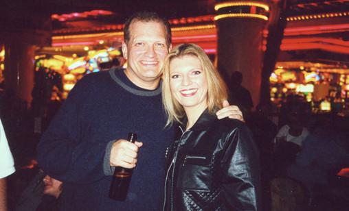 Drew Carey and Margareta Svensson Riggs