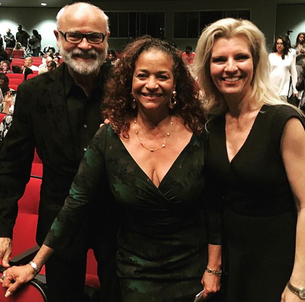 Debbie Allen, Seth and Margareta Riggs.j