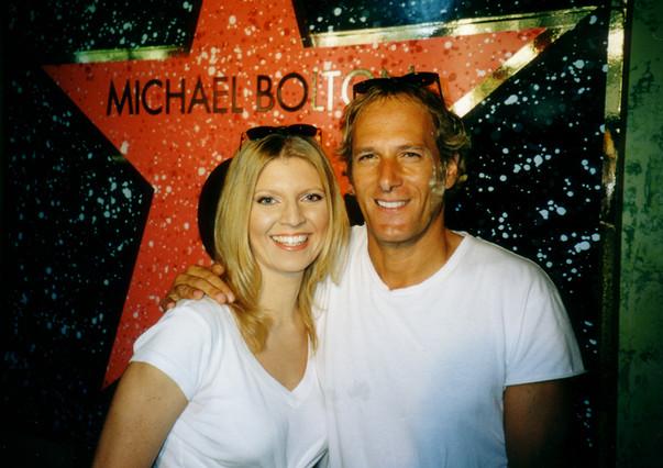 Michael Bolton and Margareta Svensson Riggs