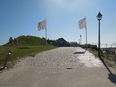 Walkway up to the fortress