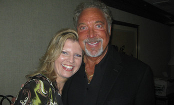 Tom Jones and Margareta Svensson
