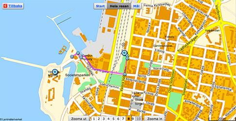Varberg map