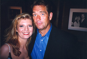 Huey Lewis and Margareta Svensson