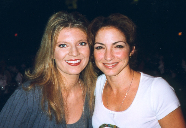 Gloria Estefan and Margareta Svensson