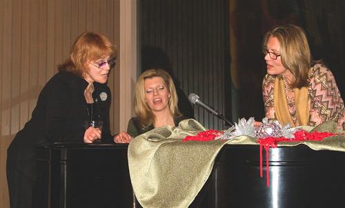 Ann-Margret, Maud Adams and Margareta Svensson Riggs