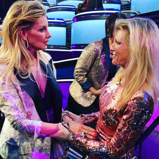 Faith Hill and Margareta Svensson Riggs