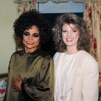 Eartha Kitt and Margareta Svensson