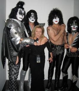 Kiss and Margareta Svensson Riggs