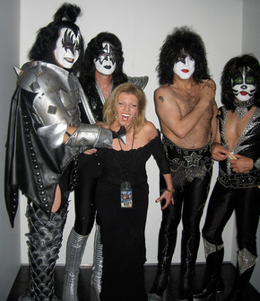 Kiss and Margareta Svensson