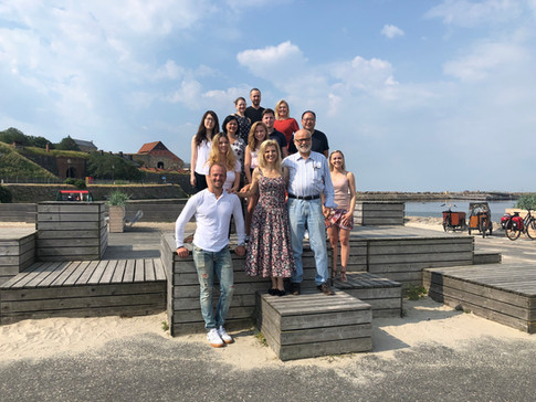2019 - our seventh workshop group in Varberg, Sweden. Several familiar faces and some new. At the end of the week though - all are like family.