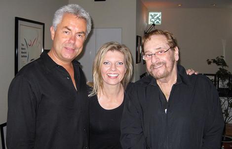 Gregg Field, Phil Ramone and Margareta Svensson Riggs