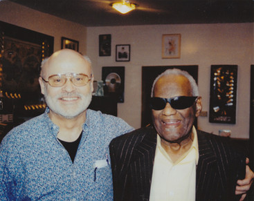 Ray Charles and Seth Riggs