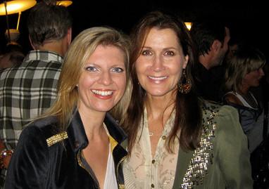 Monica Mancini and Margareta Svensson Riggs