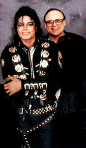 Michael Jackson and Seth Riggs