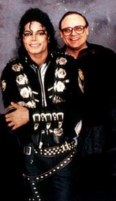 Michael Jackson and Seth Riggs