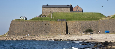 Varberg Fortress built in 1298