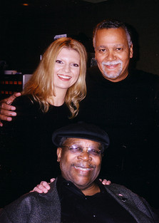 BB King, Joe Sample and Margareta Svensson